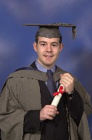 My graduation photo